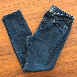 Ann Taylor Loft Curvy Skinny Jeans - Size 6P